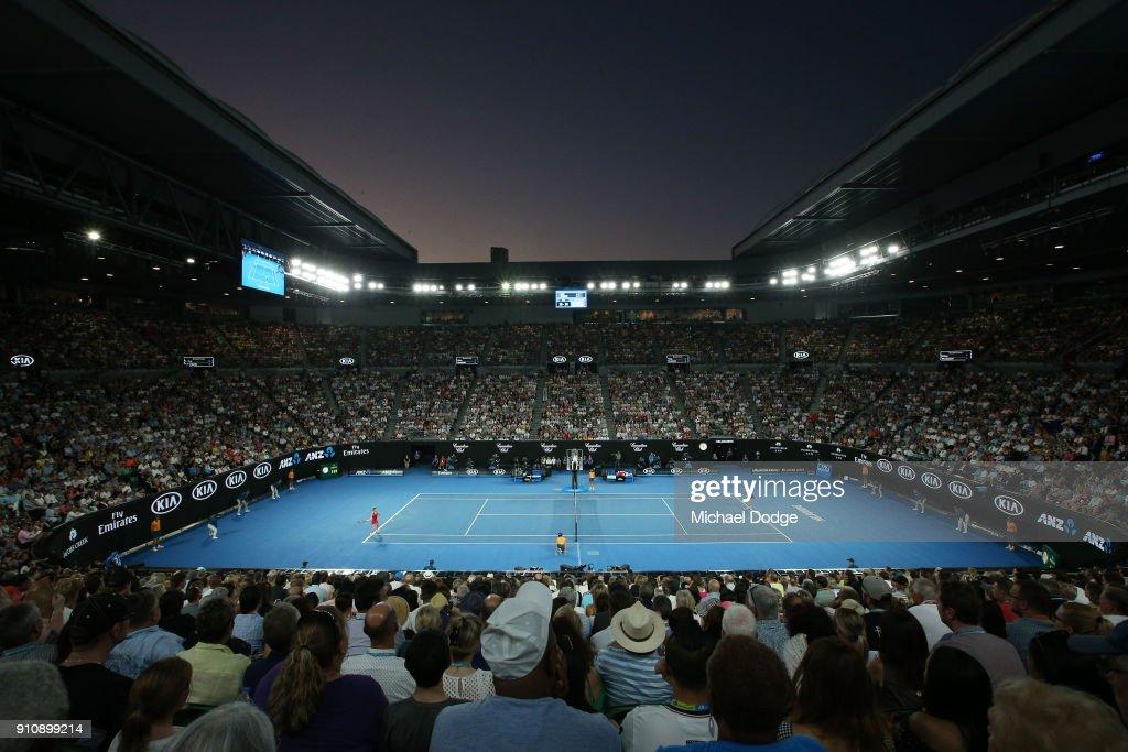 2018 Australian Open - Day 13 : Foto di attualità