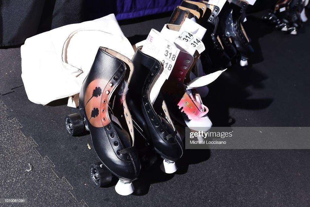 A general view of roller skates custom designed during
