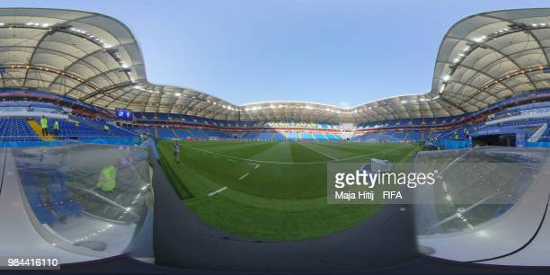 General view of Rostov Arena prior to the 2018 FIFA World Cup Russia group D match between Iceland and Croatia at Rostov Arena on June 26 2018 in...