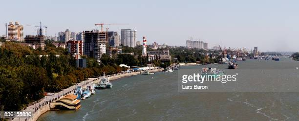 A general view of Rostov on August 21 2017 in RostovonDon Russia