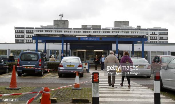 A general view of Royal Preston Hospital Lancashire where Tour de France cycling champion and Olympic gold medallist Bradley Wiggins was taken after...