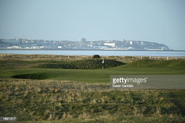 General view of Royal St Georges Golf Club par 3 11th hole taken during a photoshoot held on March 30, 2003 at Royal St Georges Golf Club, in...
