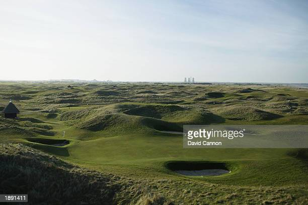 General view of Royal St Georges Golf Club par 3 6th hole taken during a photoshoot held on March 30, 2003 at Royal St Georges Golf Club, in...
