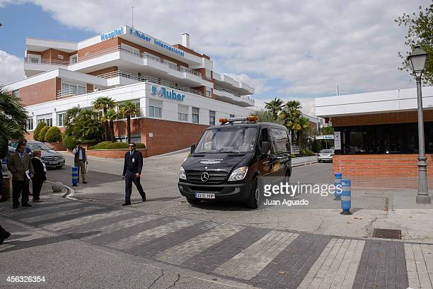 A general view of Ruber International Hospital following the death of Miguel Boyer on September 29 2014 in Madrid Spain Spanish politician Miguel...