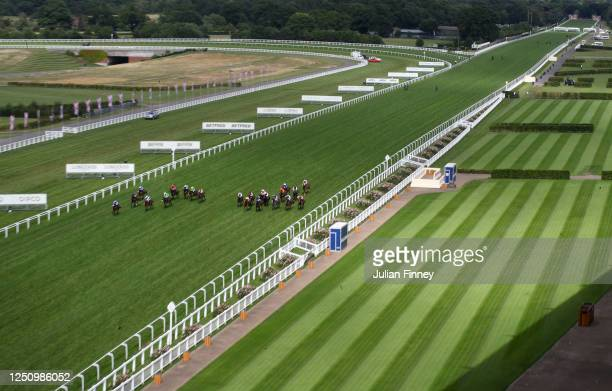 General view of runners in the Wokingham Stakes during Day Five of Royal Ascot 2020 at Ascot Racecourse on June 20, 2020 in Ascot, England.