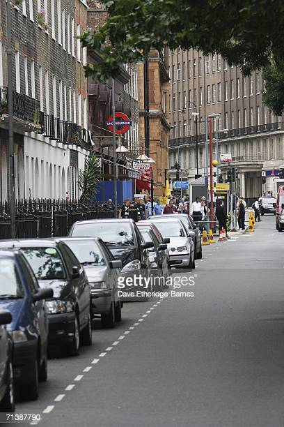 A general view of Russell Square station one year on from the 7/7 bombings at Russell Square underground station on July 7 2006 in London England On...