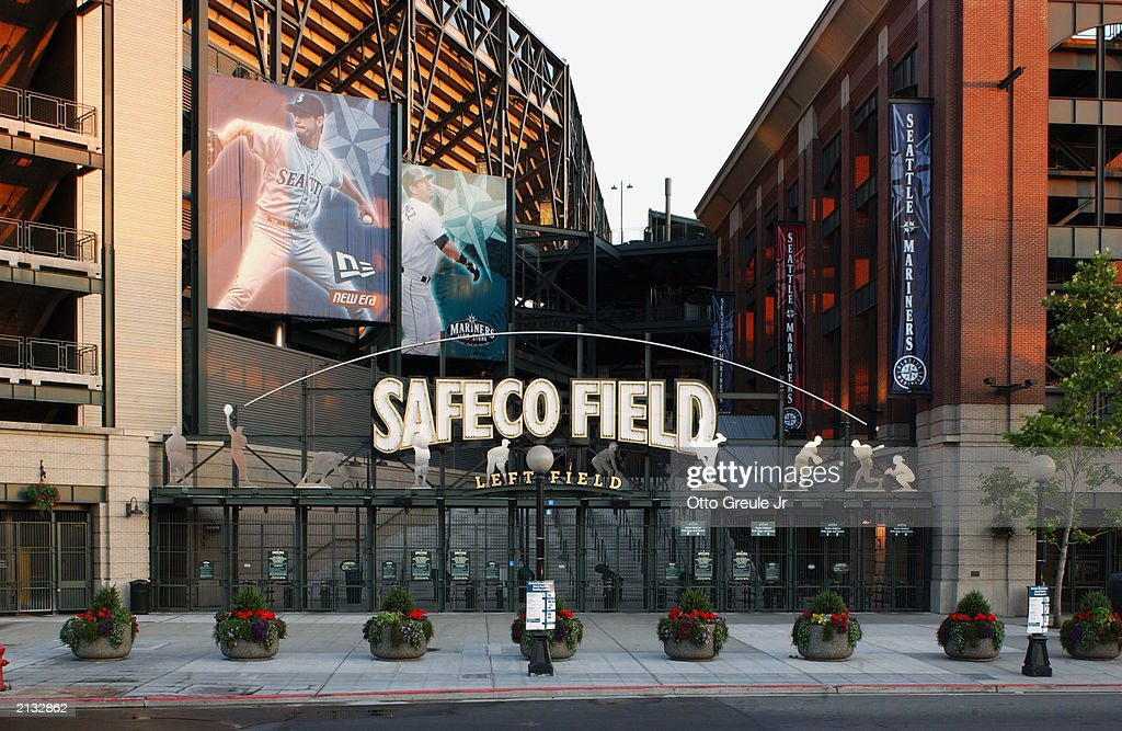 A general view of Safeco Field  : News Photo