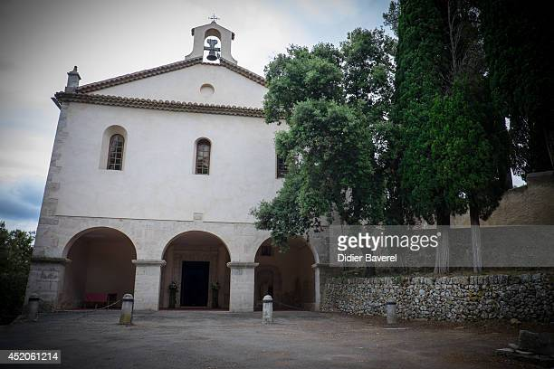 General view of Saint Ferreol Chapel in Lorgues on July 12 2014 in Lorgues France