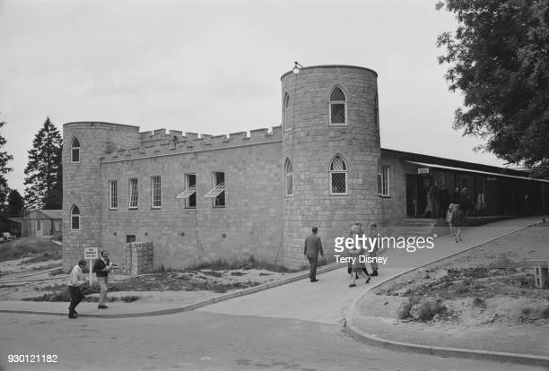 General view of Saint Hill Manor headquarters of Scientology East Grinstead Sussex 27th July 1968