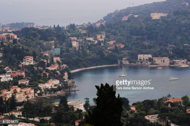A general view of Saint Jean Cap Ferrat where Angelina Jolie and Brad Pitt are staying on May 5 2008 in SaintJeanCapFerrat France