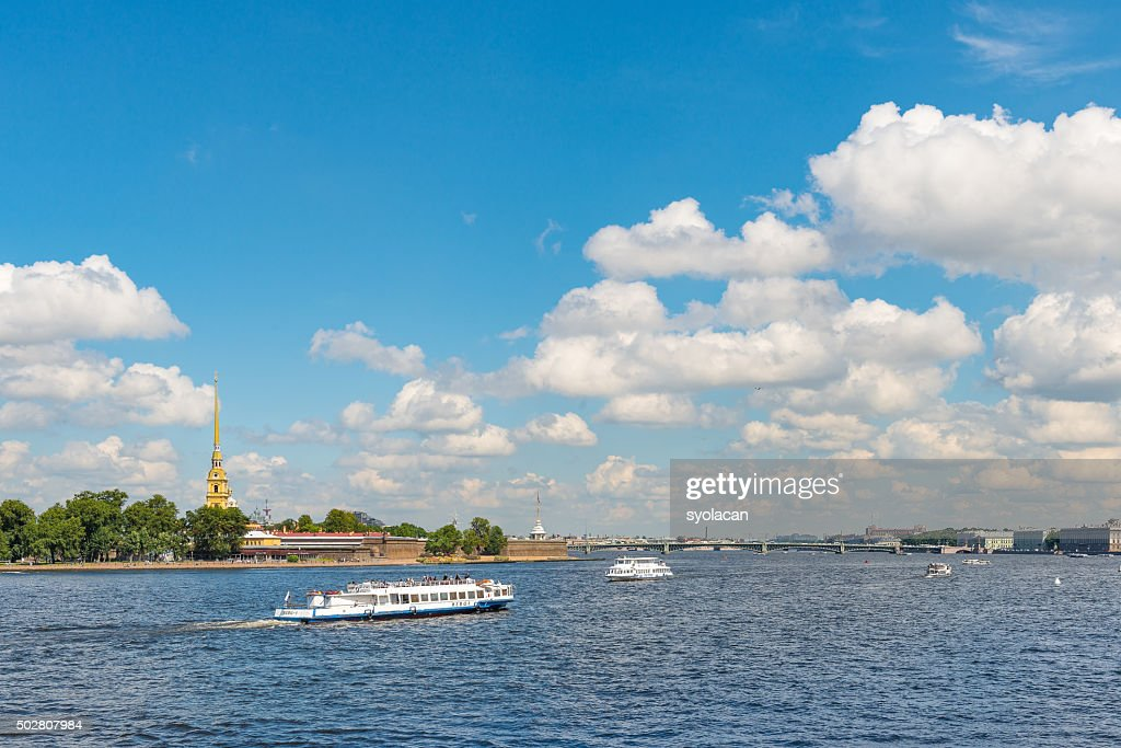 General view of Saint Petersburg, Russia : Stock Photo