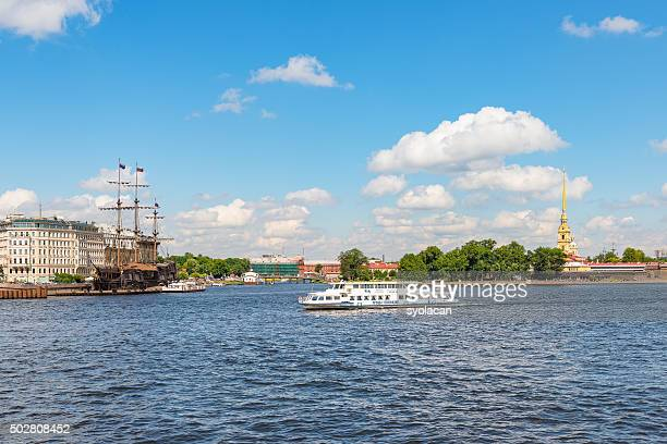 general view of saint petersburg, russia - syolacan stock pictures, royalty-free photos & images