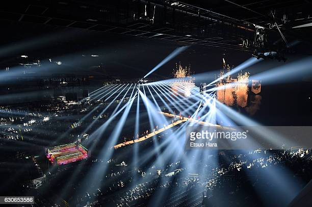 General view of Saitama Super Arena during the RIZIN Fighting World GP 2016 second round at Saitama Super Arena on December 29, 2016 in Saitama,...