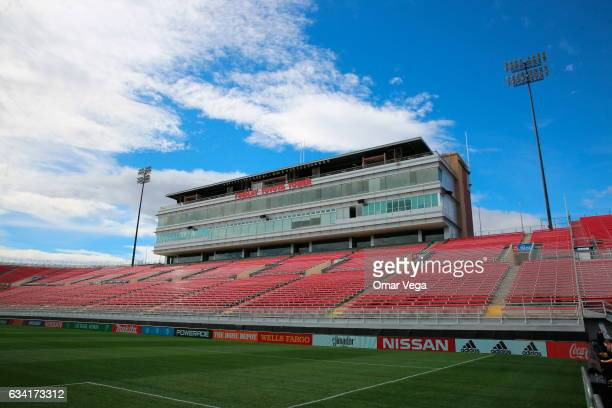 General view of Sam Boyd Stadium ahead of a match between Mexico and Iceland on February 07 2017 in Las Vegas United States