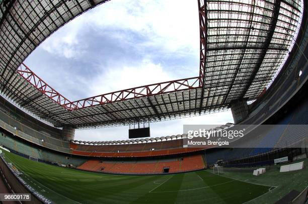 A general view of San Siro stadium on March 31 2008 in Milan Italy