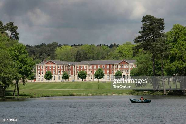 General view of Sandhurst Royal Military Academy, where Prince Harry begins his army officer training, on May 8, 2005 in Sandhurst, Surrey. Prince...