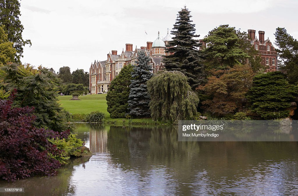 General view of Sandringham House, Queen Elizabeth II's country retreat set in 24 hectares of gardens on the Sandringham Estate, at Sandringham on August 30, 2011 in King's Lynn, England.