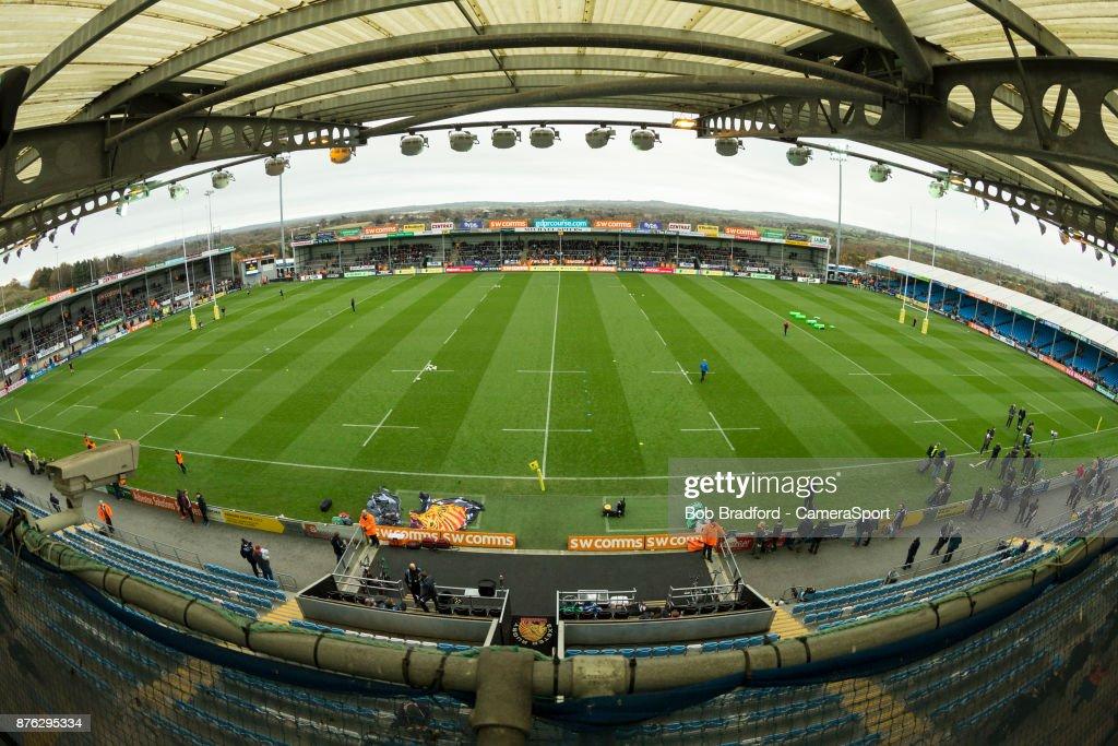 Exeter Chiefs v Harlequins - Aviva Premiership : Photo d'actualité