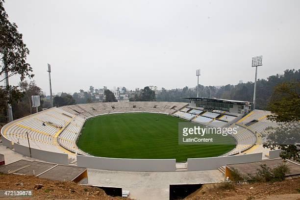 General view of Sausalito Stadium of Viña del Mar, ahead of Copa America Chile 2015 on April 24, 2015 in Viña del Mar, Chile.