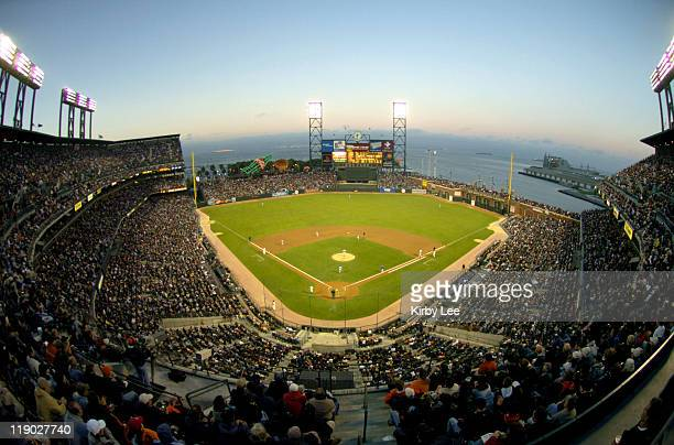 General view of SBC Park home of the San Francisco Giants