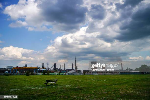General view of Scunthorpe's British Steel's which has been forced into liquidation today on May 22, 2019 in Scunthorpe, England. The High Court in...