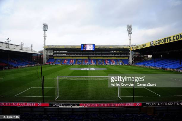 General View of Selhurst Park home of Crystal Palace during the Premier League match between Crystal Palace and Burnley at Selhurst Park on January...