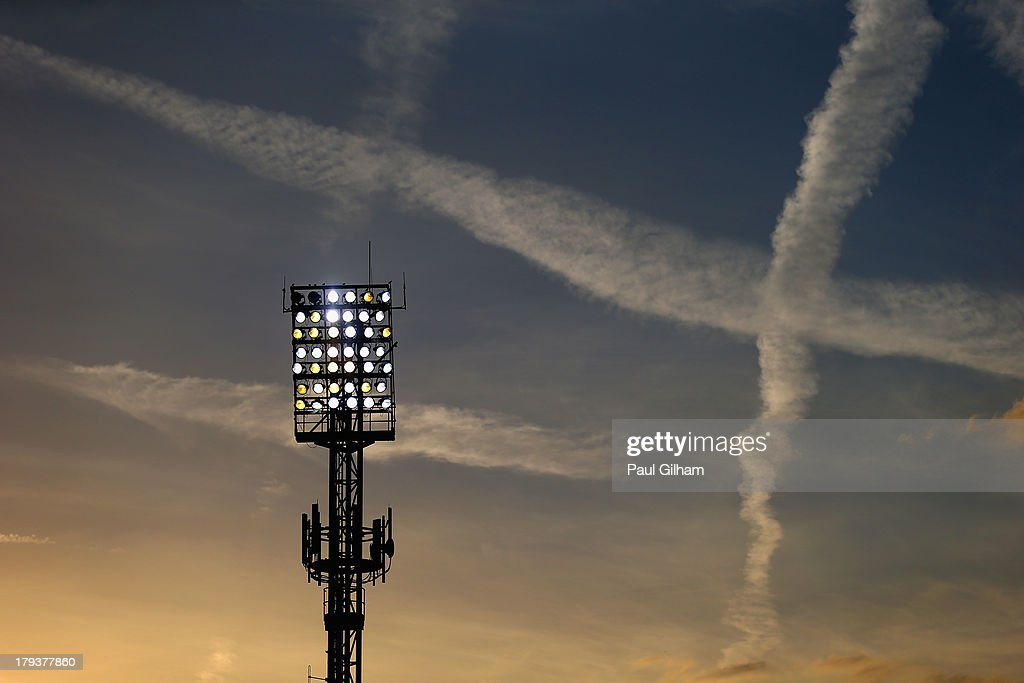 A general view of Selhurst Park stadium during the Barclays Premier League match between Crystal Palace and Sunderland at Selhurst Park on August 31, 2013 in London, England.