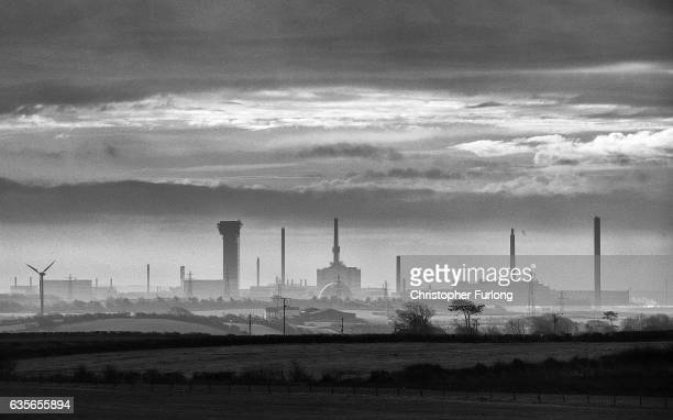 A general view of Sellafield Nuclear Power Station a main employer of people voting in the Copeland byelection on February 16 2017 in Whitehaven...