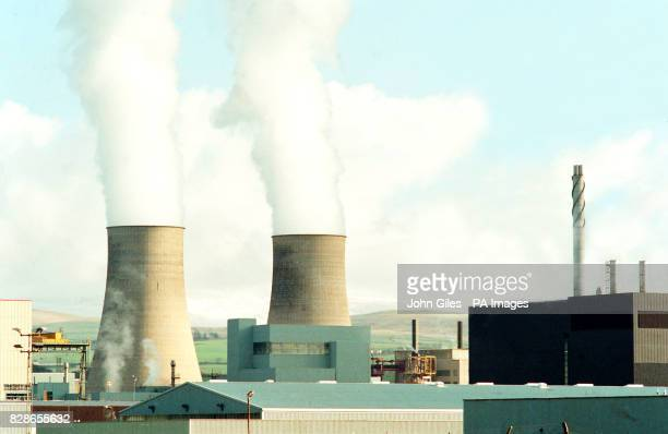 A general view of Sellafield nuclear processing plant in Cumbria operated by British Nuclear Fuels Limited * 02/06/00 British Nuclear Fuels Limited...