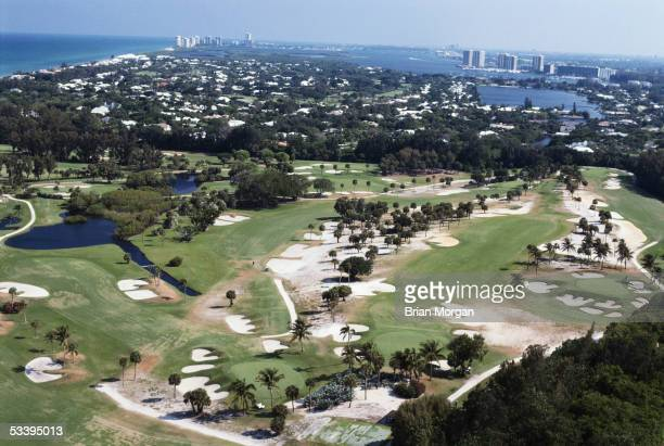 General view of Seminole Golf Course and Club taken during a photocall held in Juno Beach, Florida, USA.