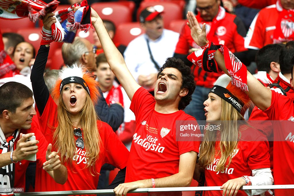 A General View Of Sevilla Fc Fans During The Uefa Europa League Final News Photo Getty Images