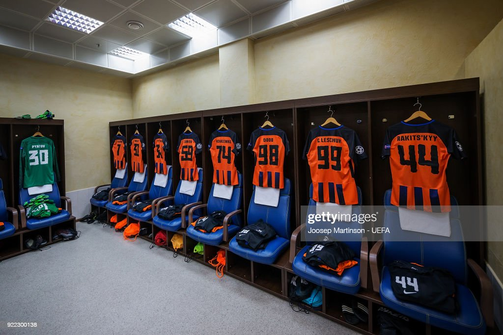 Shakhtar Donetsk v AS Roma - UEFA Champions League Round of 16: First Leg : News Photo