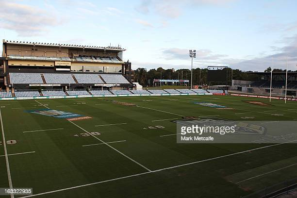 General view of Shark Park prior to a Cronulla Sharks press conference on March 8, 2013 in Sydney, Australia. The Sharks have stood down their coach...