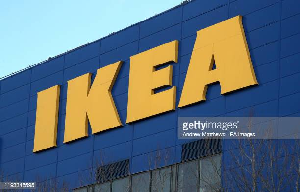 General view of signage for Ikea outside their store in Southampton. PA Photo. Picture date: Sunday January 12, 2020. Photo credit should read:...