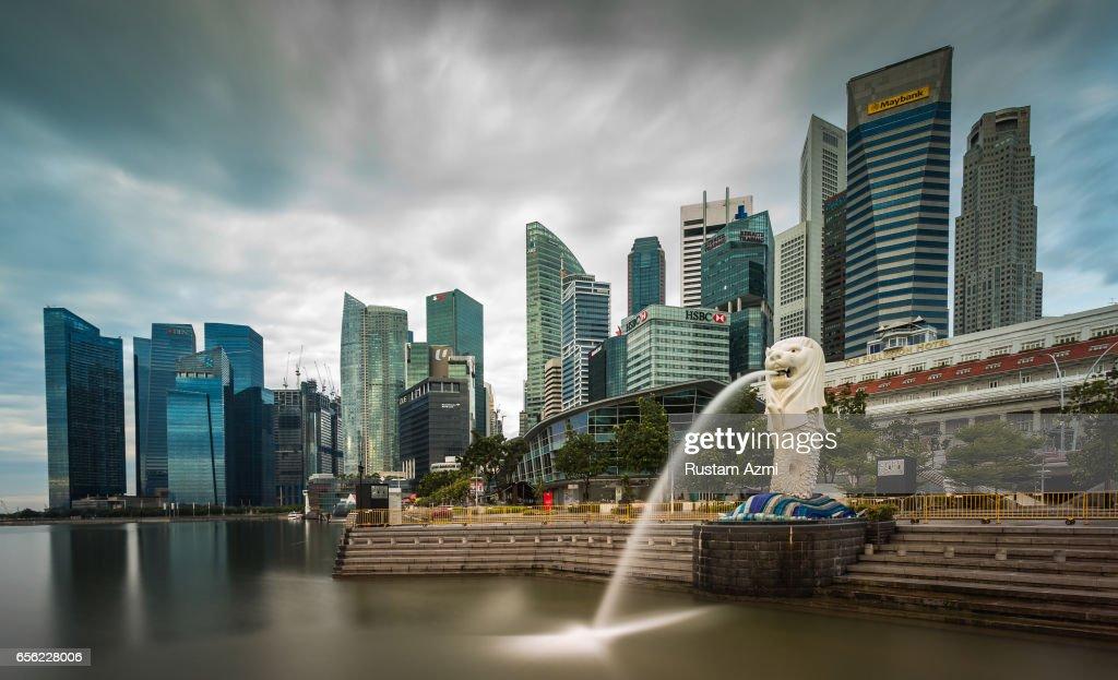 The Singapore Skyline : News Photo