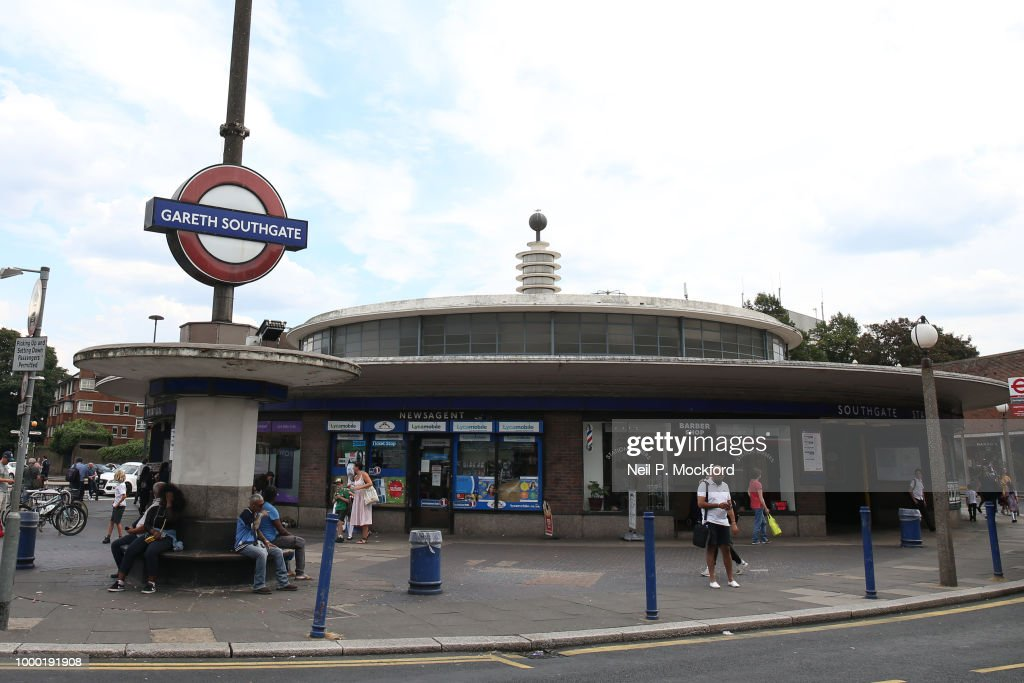 Southgate Tube Temporarily Renamed In Tribute To England Football Team Manager