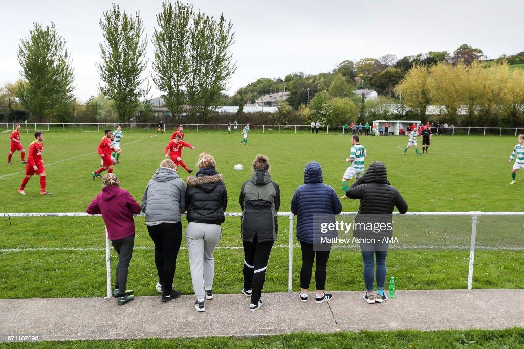 Glan Conwy v Llanrwst United - Lock Stock Welsh Alliance Football League - Division One : News Photo