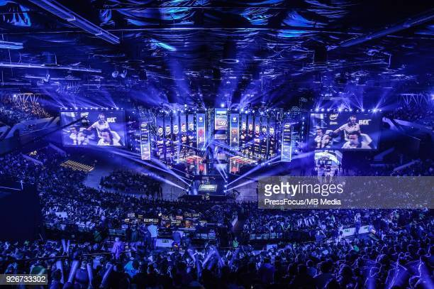 General view of Spodek Arena during CounterStrike Global Offensive semi final game between Astralis and FaZe Clan on March 3 2018 in Katowice Poland