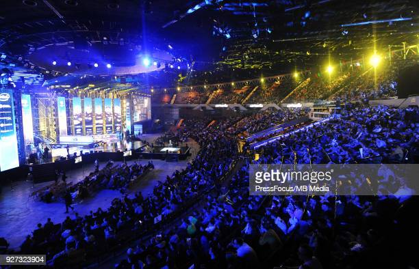 General view of Spodek Arena during CounterStrike Global Offensive quarterfinal game between Cloud9 and FaZe Clan on March 2 2018 in Katowice Poland