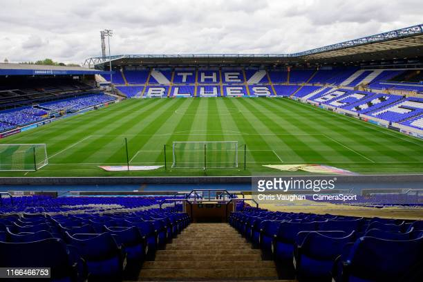 General view of St Andrew's, home of Coventry City prior to the Sky Bet League One match between Coventry City and Blackpool at St Andrews on...