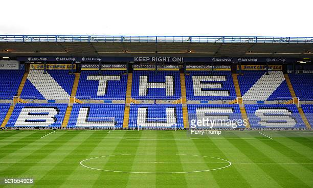 General view of St Andrews Stadium ahead of the Sky Bet Championship match between Birmingham City and Burnley at St Andrews Stadium on April 16 2016...