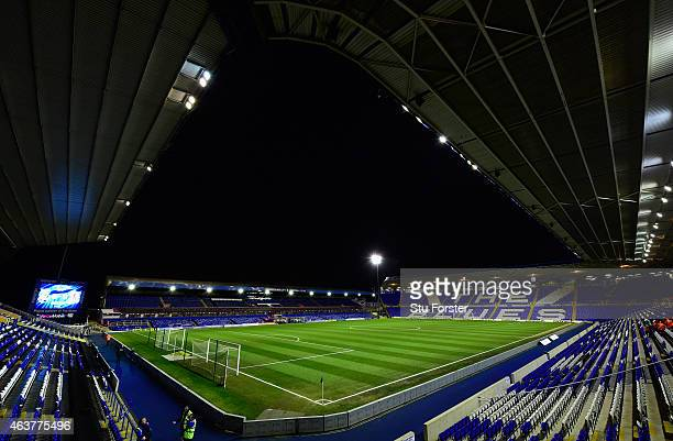 A general view of St Andrews stadium before the Sky Bet Championship match between Birmingham City and Middlesbrough at St Andrews on February 18...