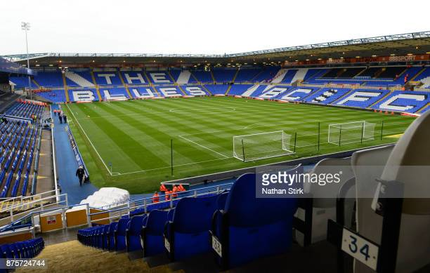 General view of St Andrews Stadium before the Sky Bet Championship match between Birmingham City and Nottingham Forest at St Andrews on November 18...