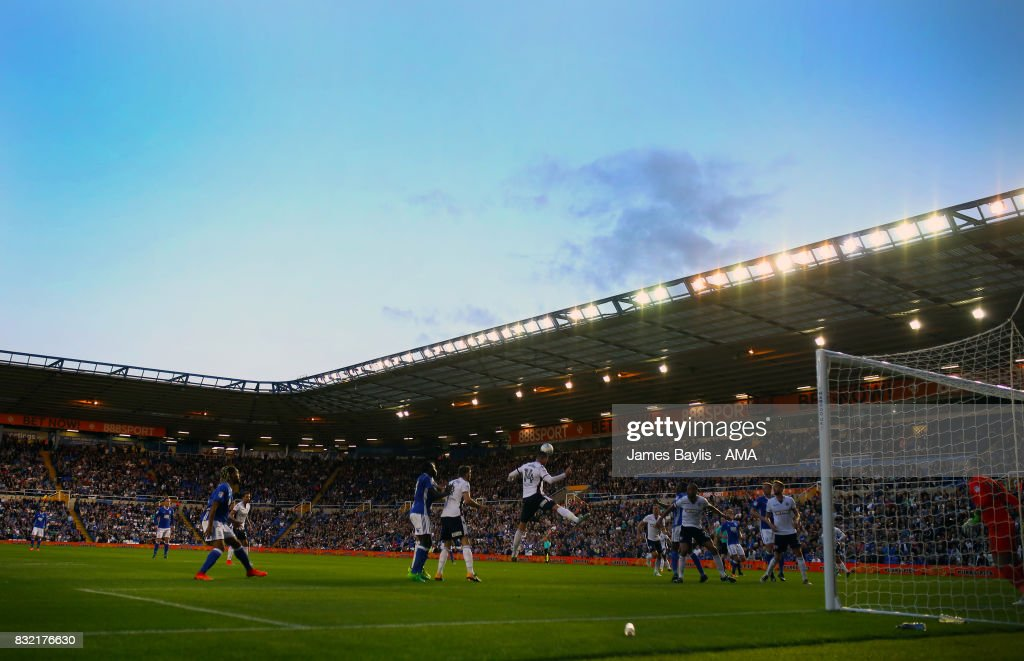 General view of St Andrews stadium during the Sky Bet Championship match between Birmingham City and Bolton Wanderers at St Andrews (stadium) on August 15, 2017 in Birmingham, England.