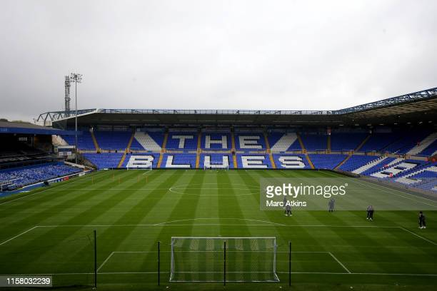 General view of St Andrews Stadium prior to the Pre-Season Friendly match between Birmingham and Brighton and Hove Albion at St Andrews on July 27,...