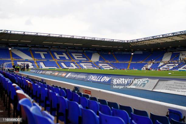 General view of St Andrew's Trillion Trophy Stadium home of Coventry City for 2019/20 season prior to the Sky Bet League One match between Coventry...