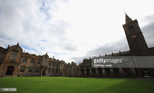 General view of St. Andrews University prior to the start of The Alfred Dunhill Links Championship at The Old Course on September 26, 2011 in St...