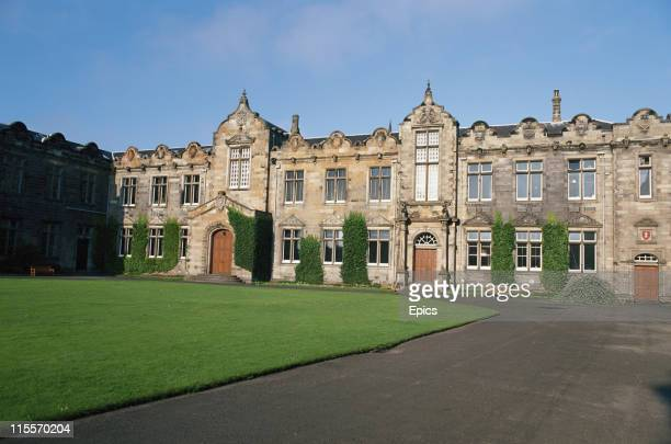 General view of St Andrews University which is Scotland's first university and the third oldest in the English speaking world, Fife, Scotland, June...