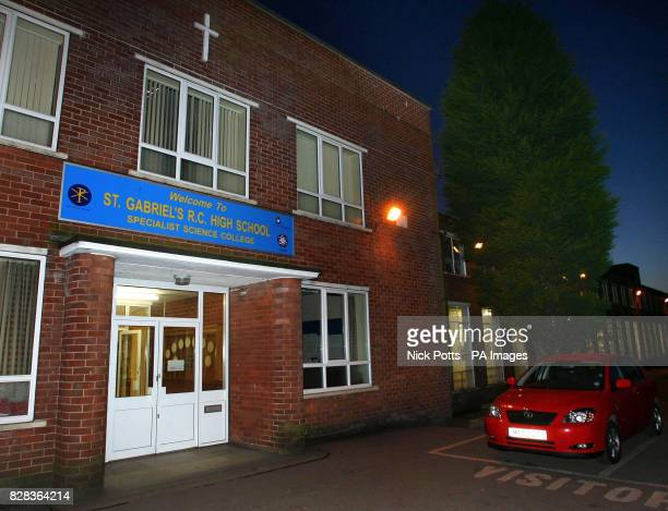 General view of St Gabriel's Roman Catholic School in Bury, Greater Manchester, Thursday March 2, 2006. A teenager was arrested on suspicion of...
