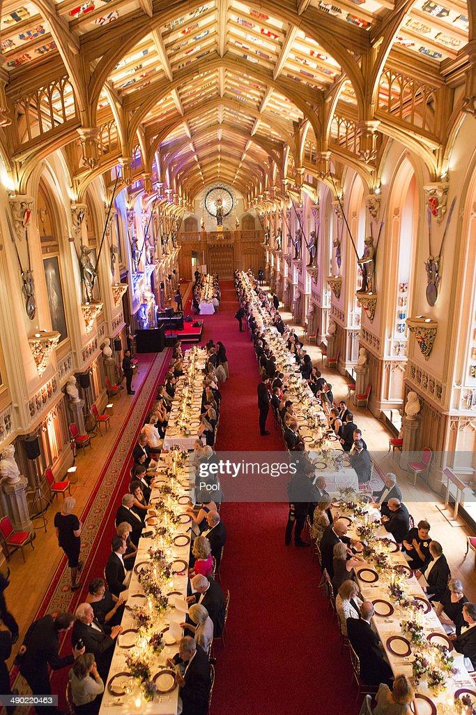 The Duke Of Cambridge Celebrates The Royal Marsden : News Photo